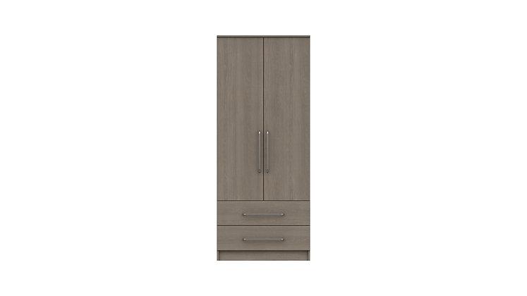 MINNESOTA RANGE 2 DOOR COMBI WARDROBE