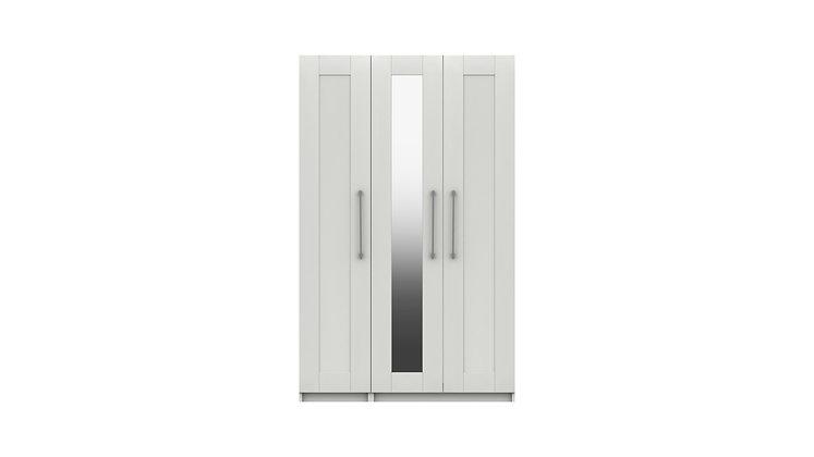 CALDER RANGE 3 DOOR WARDROBE WITH MIRROR