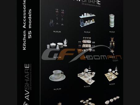 3D Models: Acessórios de cozinha
