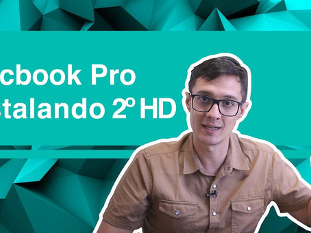 Macbook Pro: Instalando 2º HD