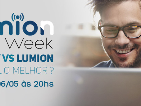 Começou a Lumion Week!