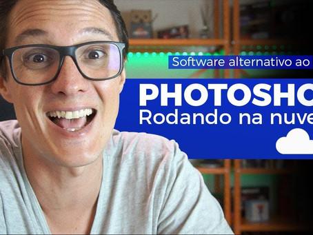 Trabalhando Online: Photoshop Gratuito rodando na Nuvem