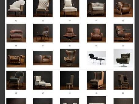 St-CG Vol.1 – Boutique Sofa Chair Series