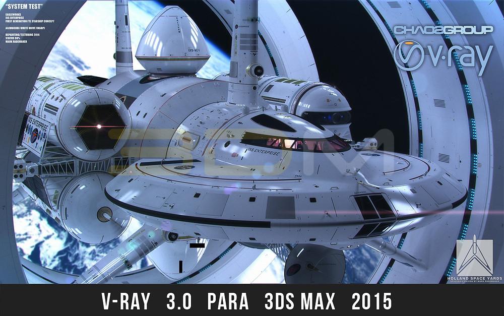 V-Ray 3.0 para 3ds Max 2015