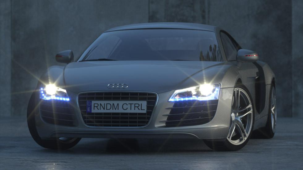 Audi - depois de tratado no ArionFX