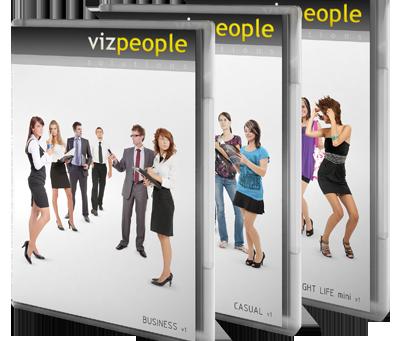 Biblioteca de pessoas: Viz People Bundle