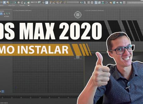 Download e instalação do 3ds Max 2020 (de graça, ok?)