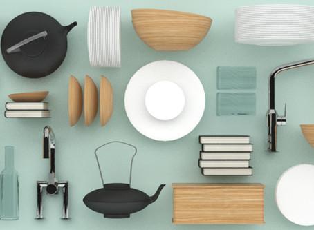 3D Model – acessórios de cozinha