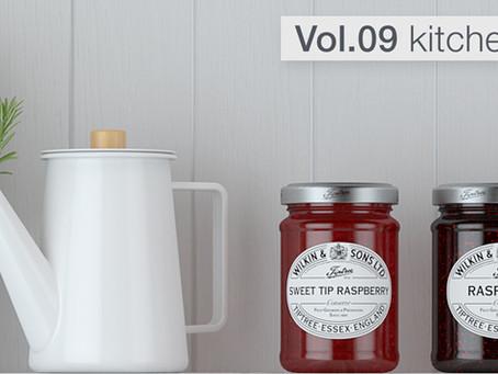 Download Model + Model Vol.9 – Kitchen Accessories