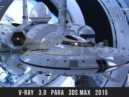 V-Ray Adv 30007 para 3ds Max 2015 Win64