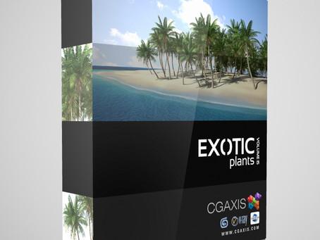 CGAxis Vol.15 – Exotic Plants
