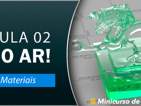 Semana do V-Ray – Aula 2: Materiais