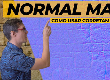 Normal Map – O que é e como funciona? [V-Ray, SketchUp, 3ds Max, Blender]