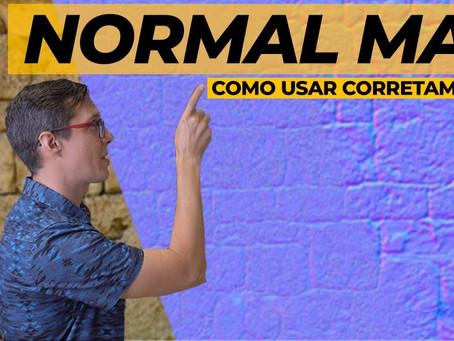 Normal Map – O que é e como funciona? [V-Ray, SketchUp, 3ds Max, Blender]