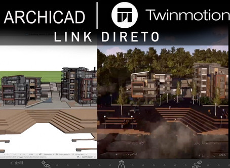 ARCHICAD 23 + Twinmotion - O melhor software BIM do mercado, ponto.