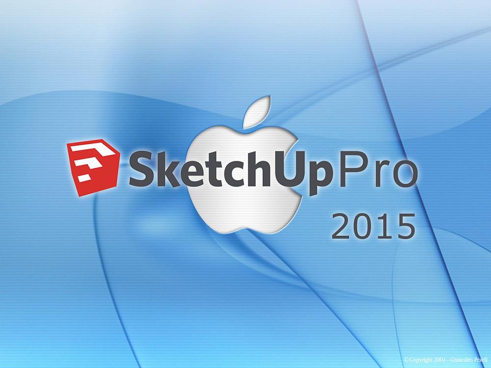 Sketchup MacOSX 2015