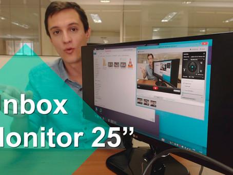 """Unbox: Monitor 25"""" LG 25UM58-P"""