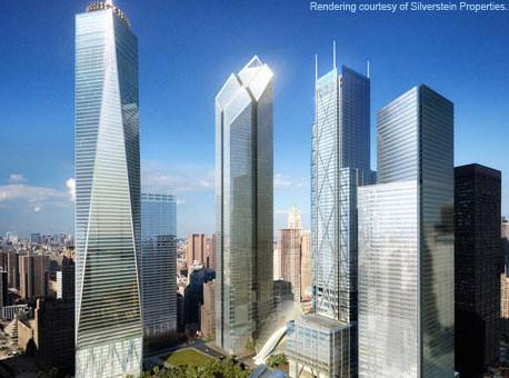 Animação do novo World Trade Center