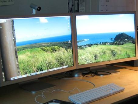 Trabalhando com 2 monitores