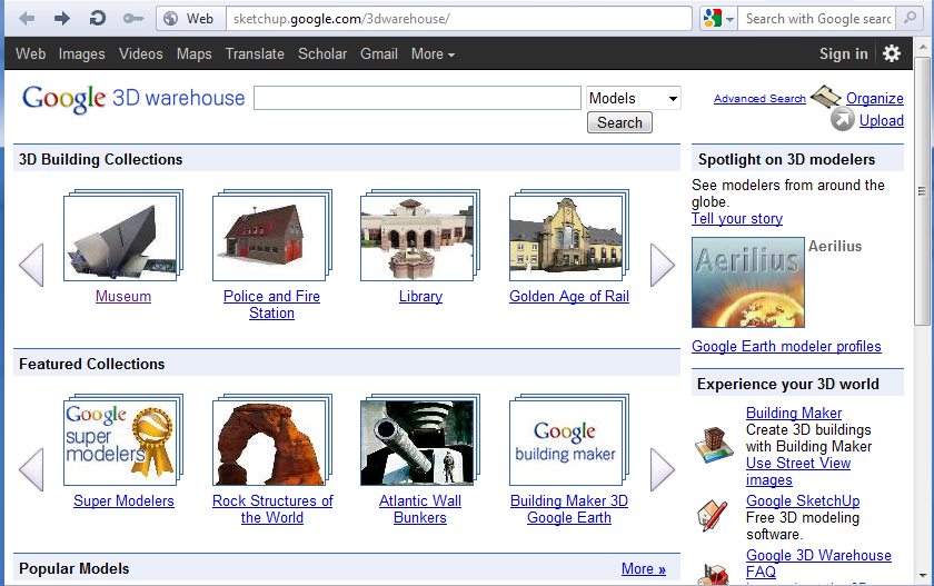 3d_warehouse_google