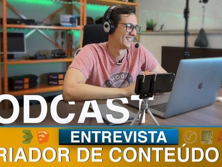 Bastidores da entrevista pro LPT Podcast