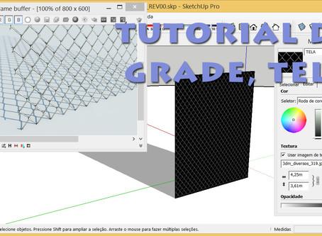 Tutorial de Alambrado no Sketchup + V-Ray