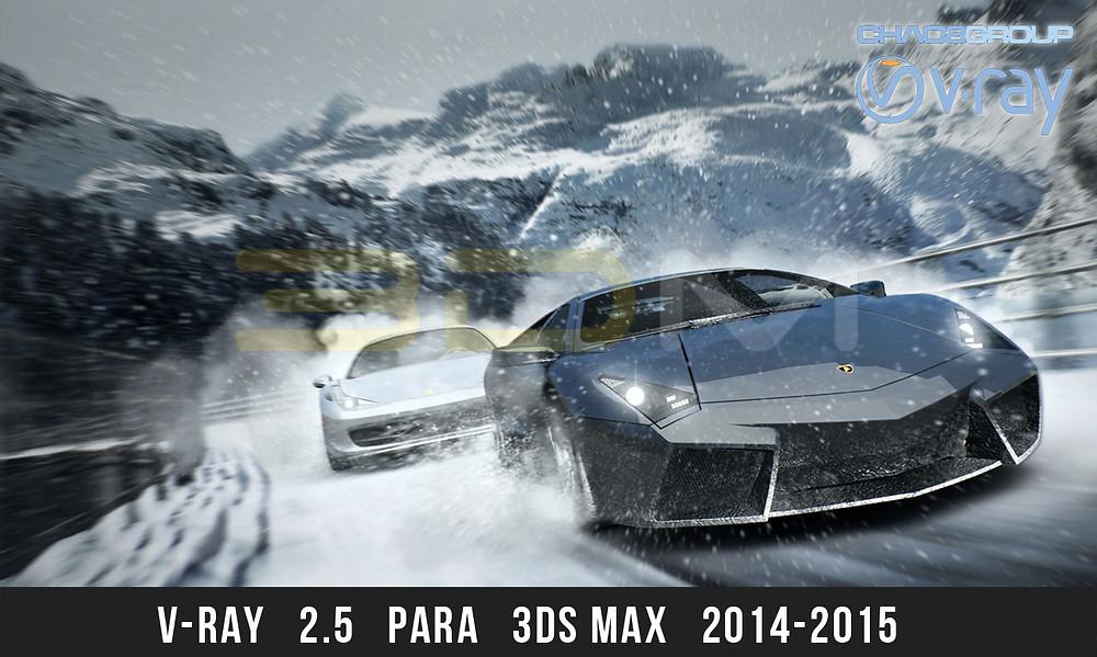 V-Ray para 3ds Max 2015