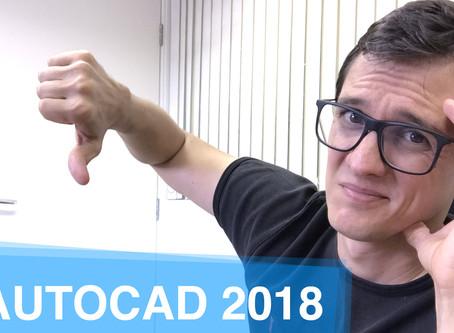 Review e Download AutoCAD 2018