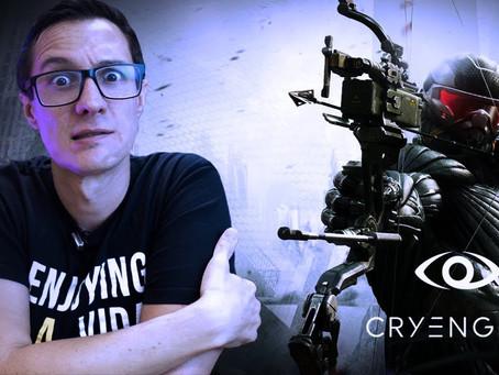 CryEngine para Maquete Eletrônica (Unity e Unreal que se cuidem!)