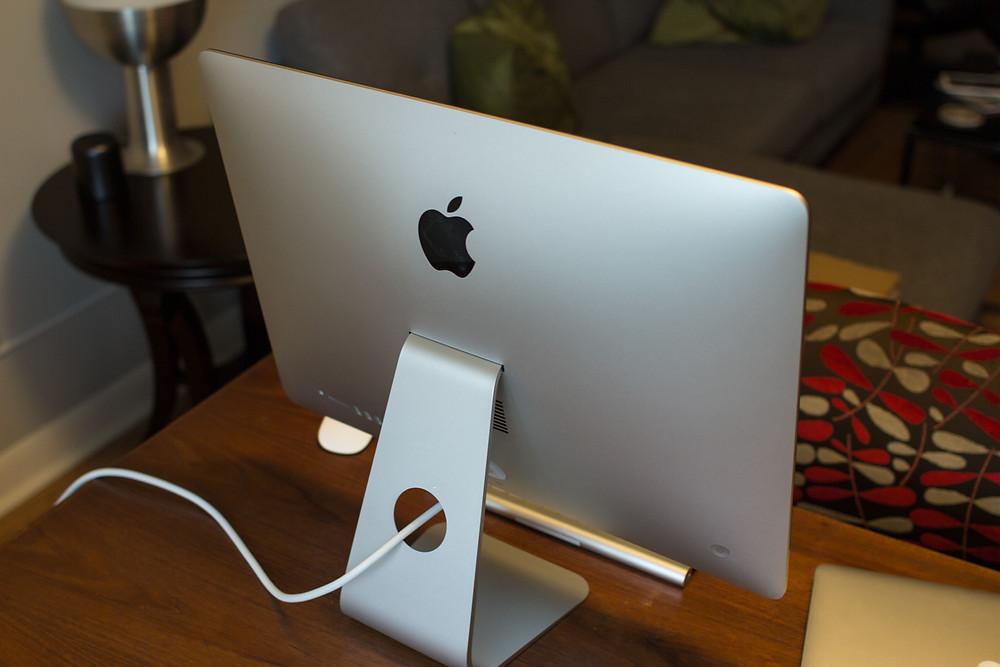 Traseira iMac