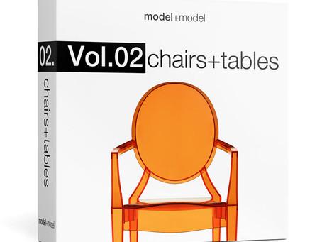 3D Models: Model+Model Vol. 02