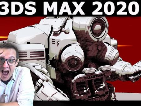 3DS MAX 2020: Puxa Autodesk…