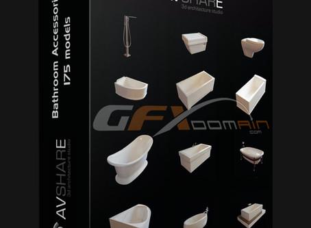 3D Models: Acessórios de Banheiro