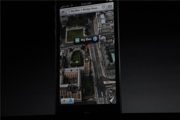 iPhone5 Maps