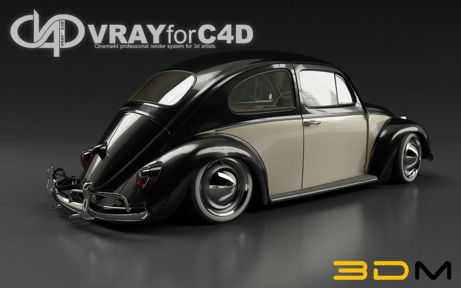 V-Ray para C4D v1.9 Win/Mac