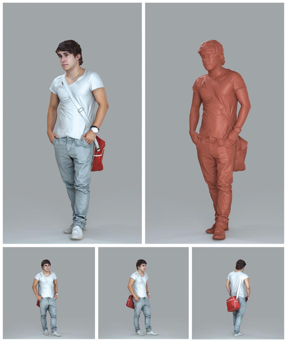 AXYZ HD2 - modelos 3D de pessoas