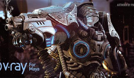 V-Ray 3.0 para Maya 2015