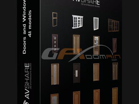 3D Models: Avshare – Portas e Janelas