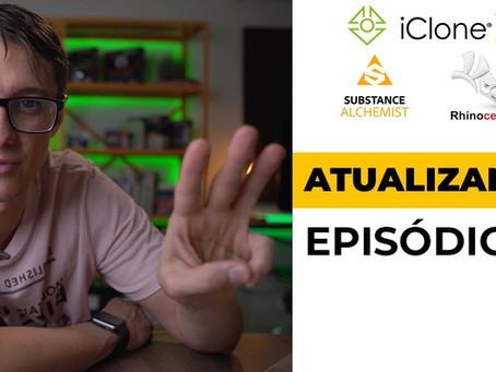 Atualizando… Episódio 03: iClone 7, Substance Alchemist e Rhino 6