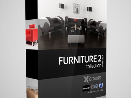 CGAxis Models Vol 17 – Coleção de Mobiliário II