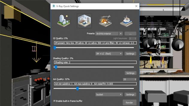 configurar vray para 3dsmax