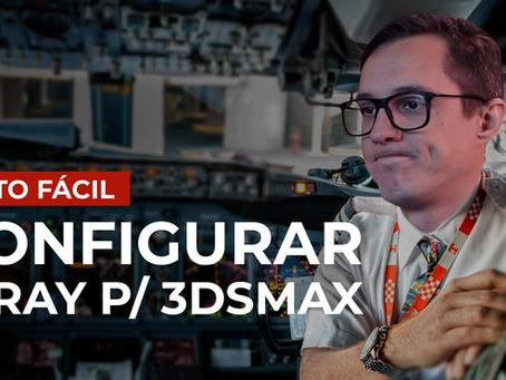 Como configurar o V-ray para 3dsMax
