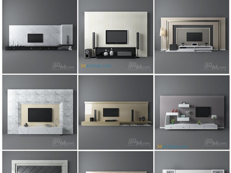 3darcshop – TV & Media Furniture 01-64