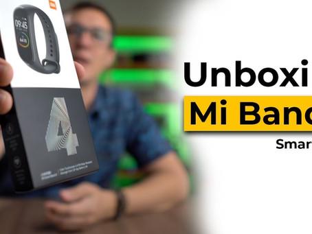 Unboxing MI BAND 4 – O preço da nova smartband da Xiaomi é simplesmente…