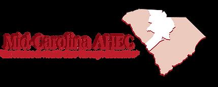 Mid-Carolina AHEC w-map FADE.png