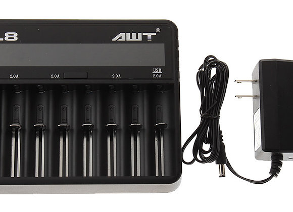 AWT L8 8-Bay Intelligent Fast Charger