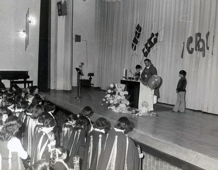 La Florida auditorio Eucaristia 1976