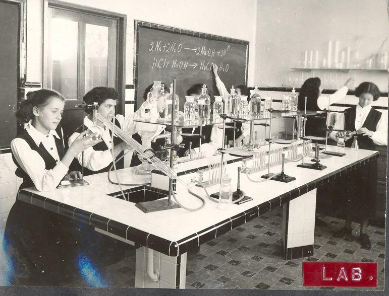 Lab de Quimica 1959 La Florida