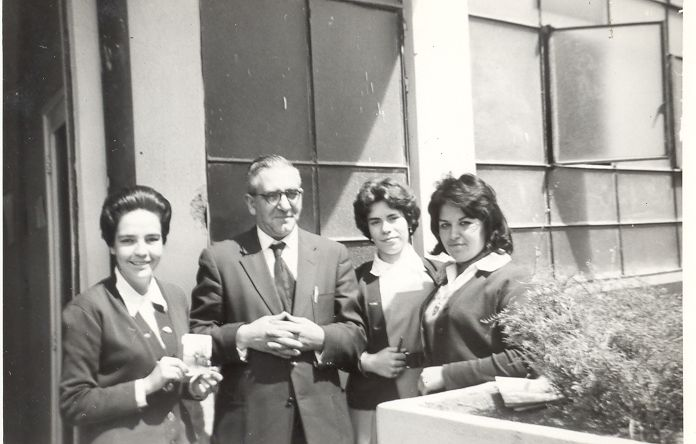 La Florda 1961 Pasillo de Preparatoria