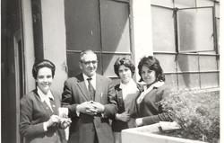 La Florda 1961 Pasillo de Preparatoria